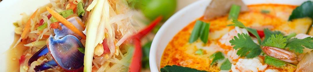 รวมเมนูอาหารและขนมไทยขึ้นชื่อ 4 ภาค